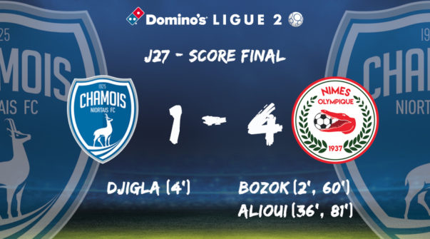 Score contre Nîmes
