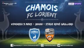 Affiche match vs Lorient