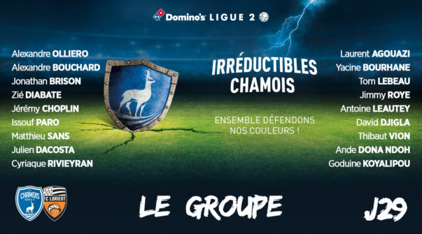Groupe vs Lorient