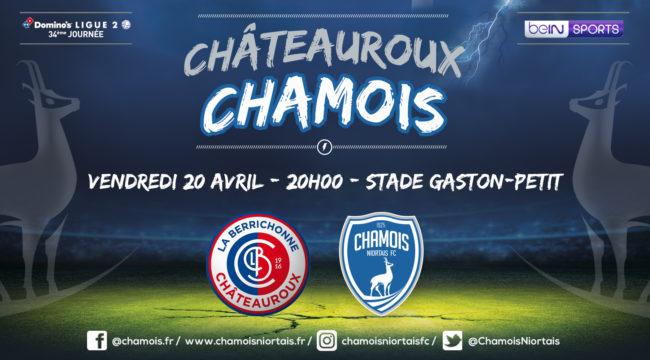 Affiche match à Châteauroux