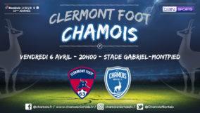 Affiche match à Clermont