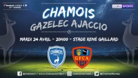 Affiche match vs Gazélec