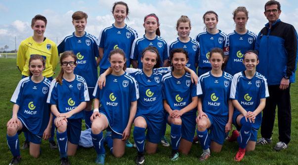 Féminines équipe coupe NA