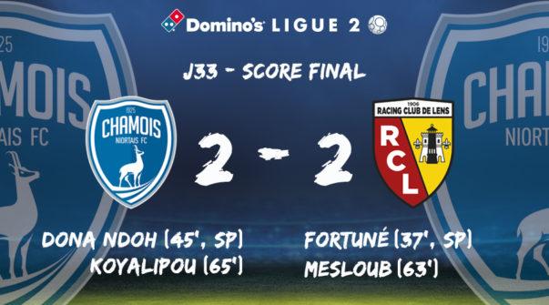 Score à domicile vs Lens