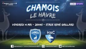 Affiche match vs Le Havre