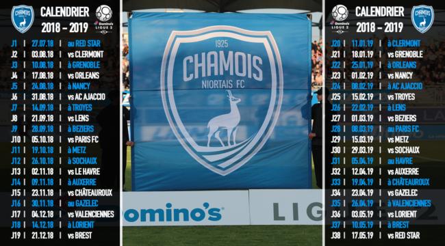 Chamois niortais fc site internet officiel saison 2017 2018 - Feu vert chateauroux ...