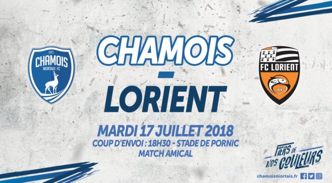 Affiche Amical vs Lorient