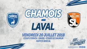 Affiche Domicile vs Laval