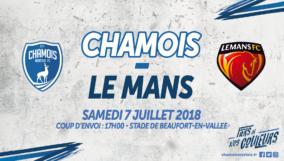 Affiche Domicile vs Le Mans