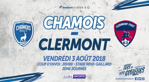 Affiche Domicile vs Clermont