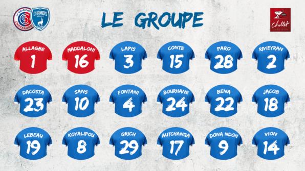 Groupe 2019 à Châteauroux