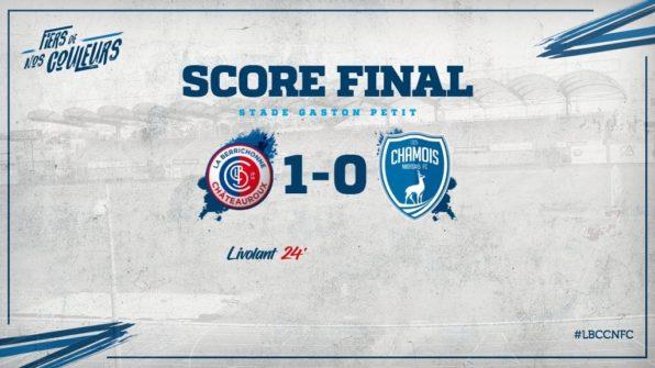 Score à Châteauroux en CDL