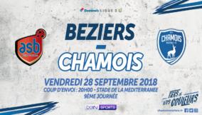 Affiche Extérieur vs Béziers