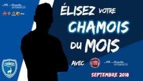 Chamois du mois de septembre 2018