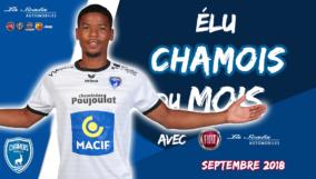 Élu Chamois du mois de septembre