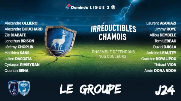 Groupe au Paris FC