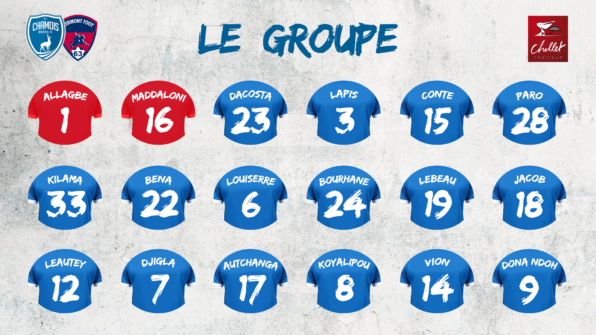Groupe 2019 vs Clermont