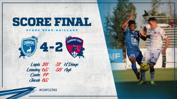 Score final vs Clermont