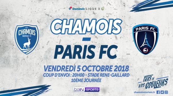 Affiche Domicile vs Paris FC