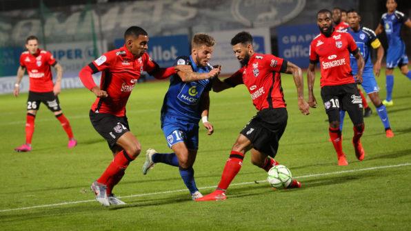 J11 : CHAMOIS-GUINGAMP, RÉSUMÉ VIDÉO - Chamois Niortais FC